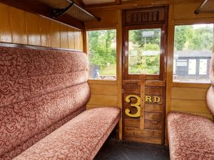 Vintage Compartment suitable for up to 8 people