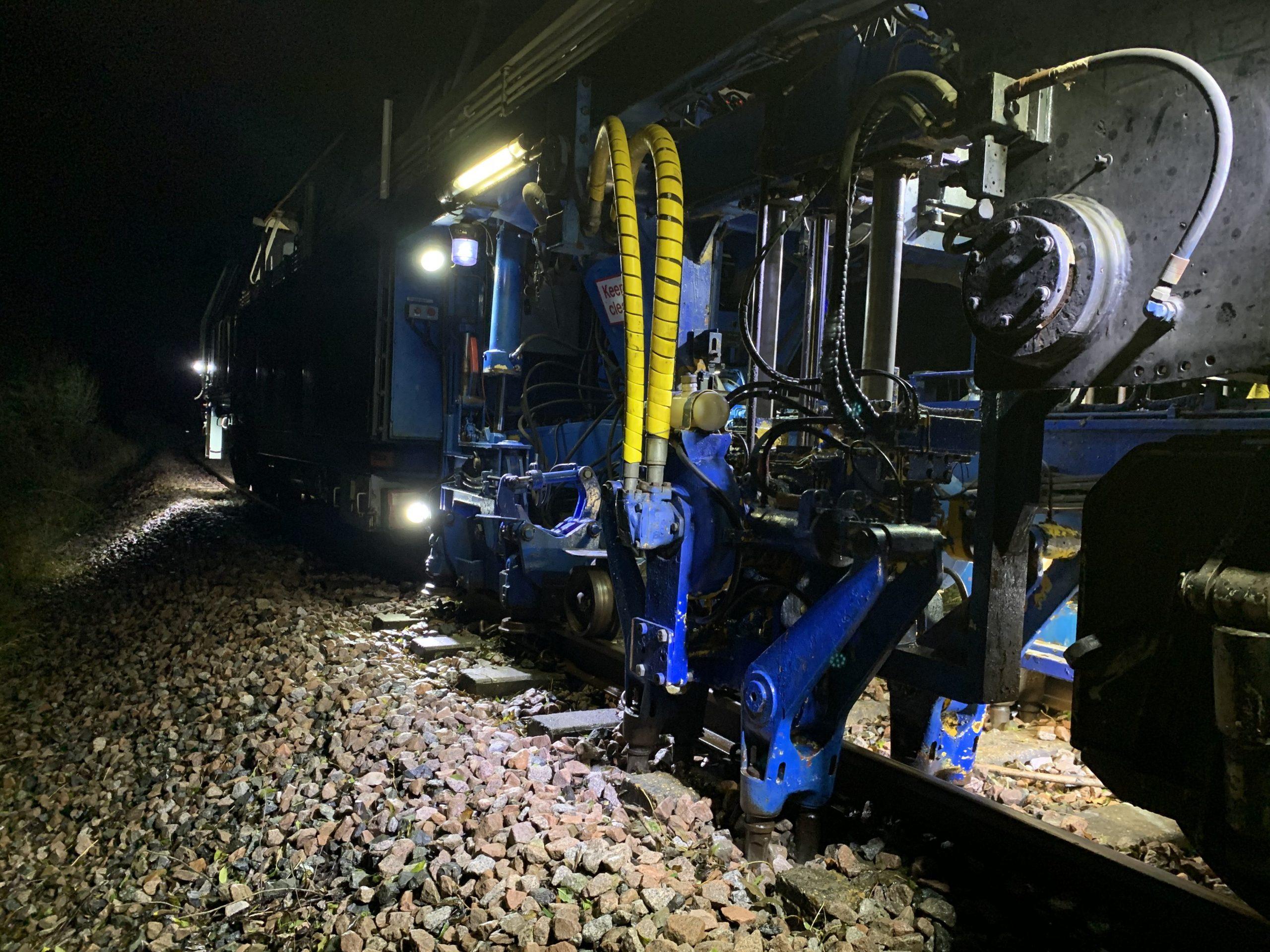 track machine